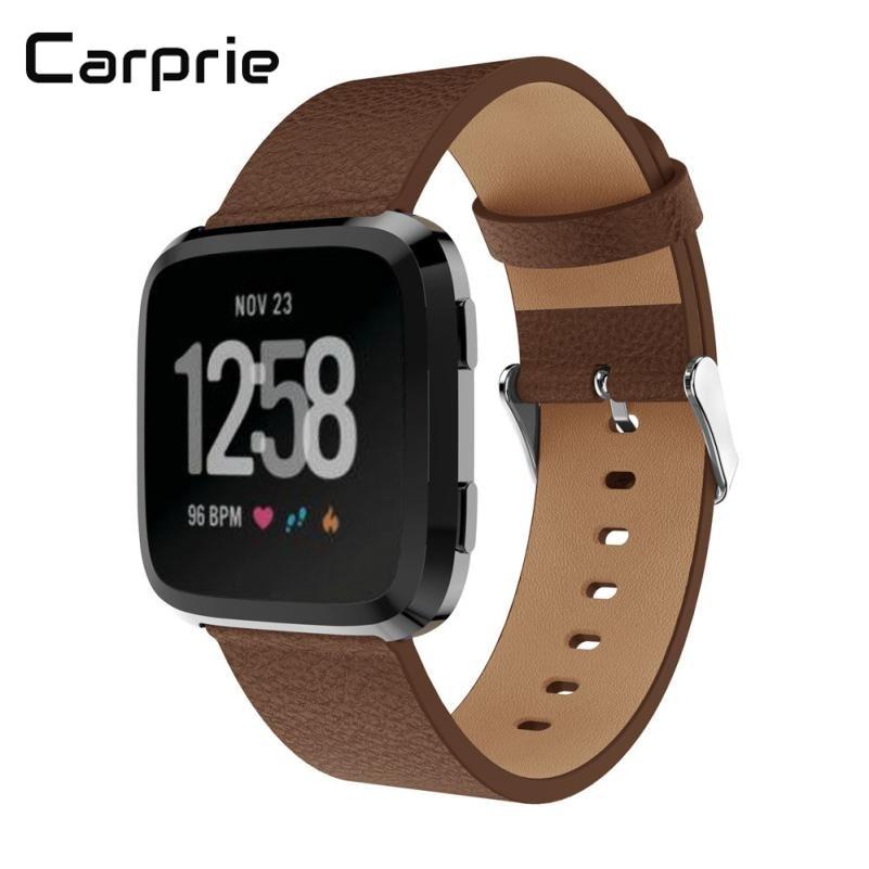 [해외]/CARPRIE high quality New Luxury Leather Bands Replacement Accessories Wristband Straps For Fitbit Versa drop shipping mar28