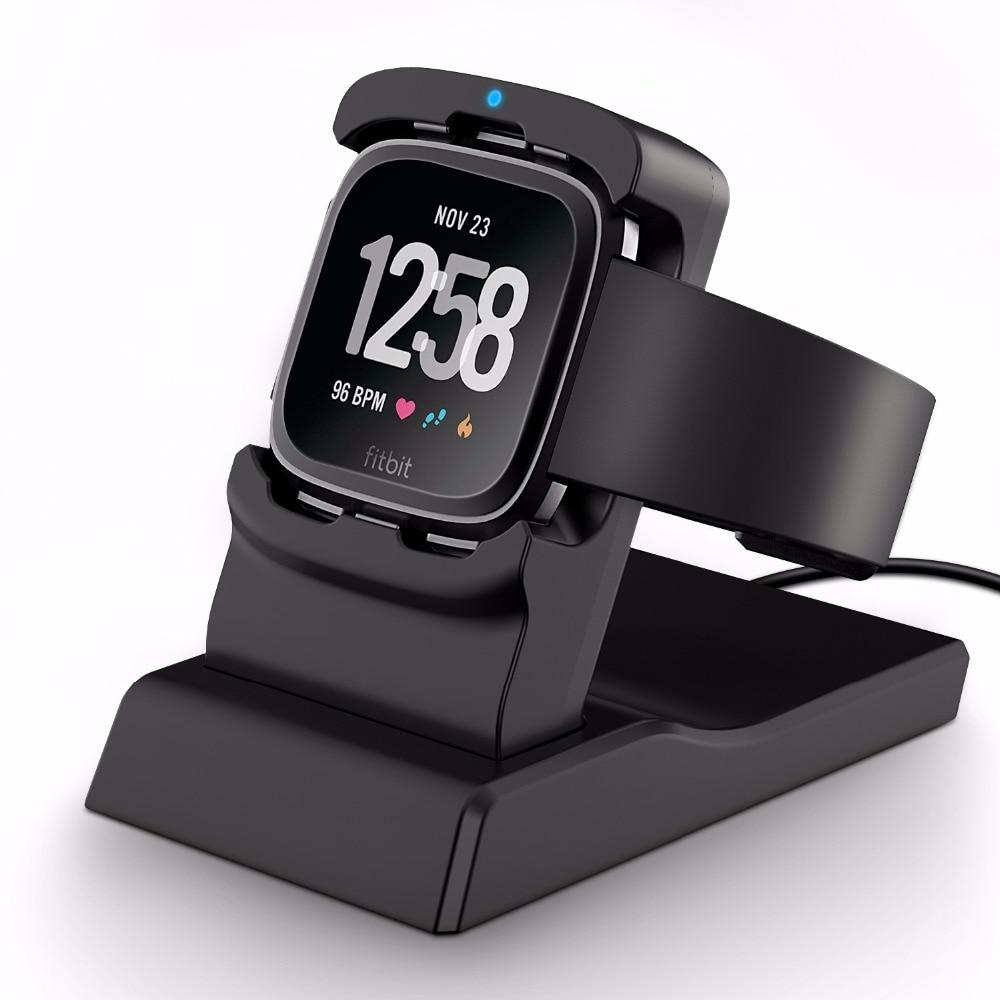 [해외]/Myriann Charging Stand Accessories Charging Dock Station Cradle Holder for Fitbit Versa smartwatch