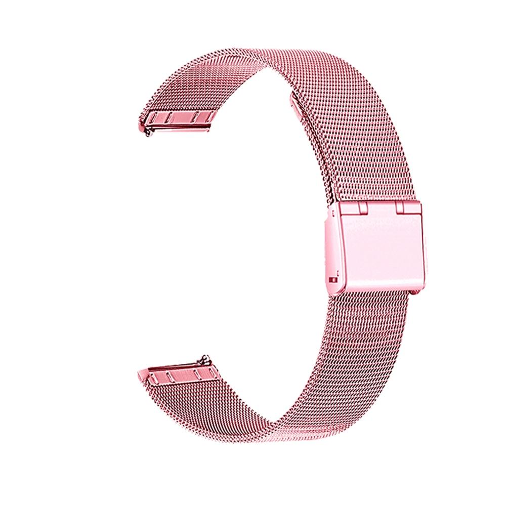[해외]Garmin vivoactive 3 milanese 루프 마그네틱 금속 스테인레스 스틸 교체 스트랩 팔찌 vivoactive 4 4s watchband 들어/Garmin vivoactive 3 milanese 루프 마그네틱 금속 스테인레스 스틸
