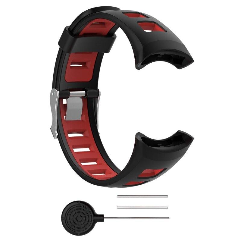 [해외] Sports Soft Silicone Bracelet Smart Watch Strap Band Replacement for Suunto Quest M1 M2 M4 M5 Smart Watch Strap/ Sports Soft Silicone Bracelet Sm