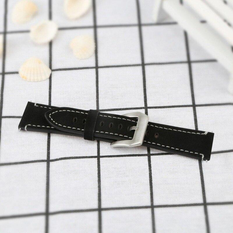 [해외]Fshion Frosted leather strap smart watch strap Genuine Leather Wristband Replacement Accessories Fitness Strap/Fshion Frosted leather strap smart