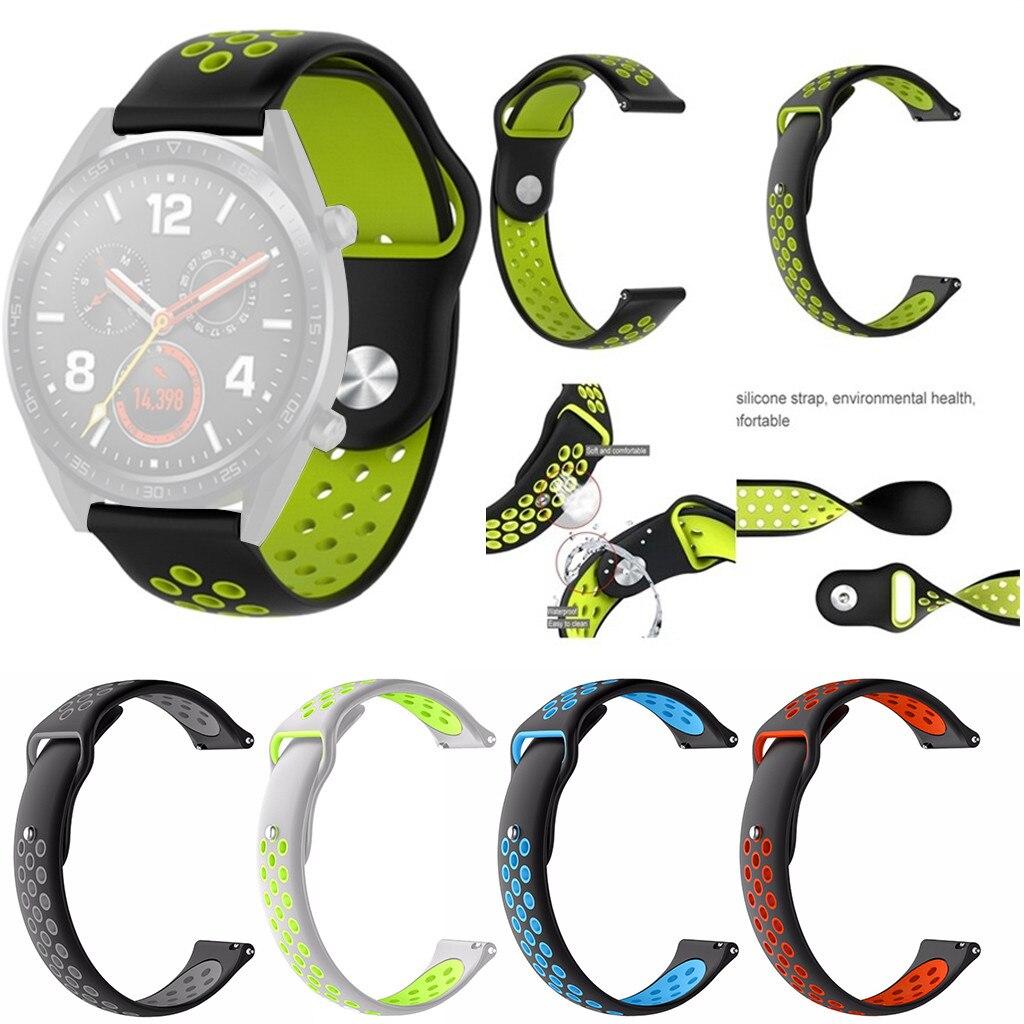 [해외]Fashion Silicone Sports Replacement Watch Band Wrist Strap For Huawei Watch GT Strap accessories Best price Wristband /Fashion Silicone Sports Rep