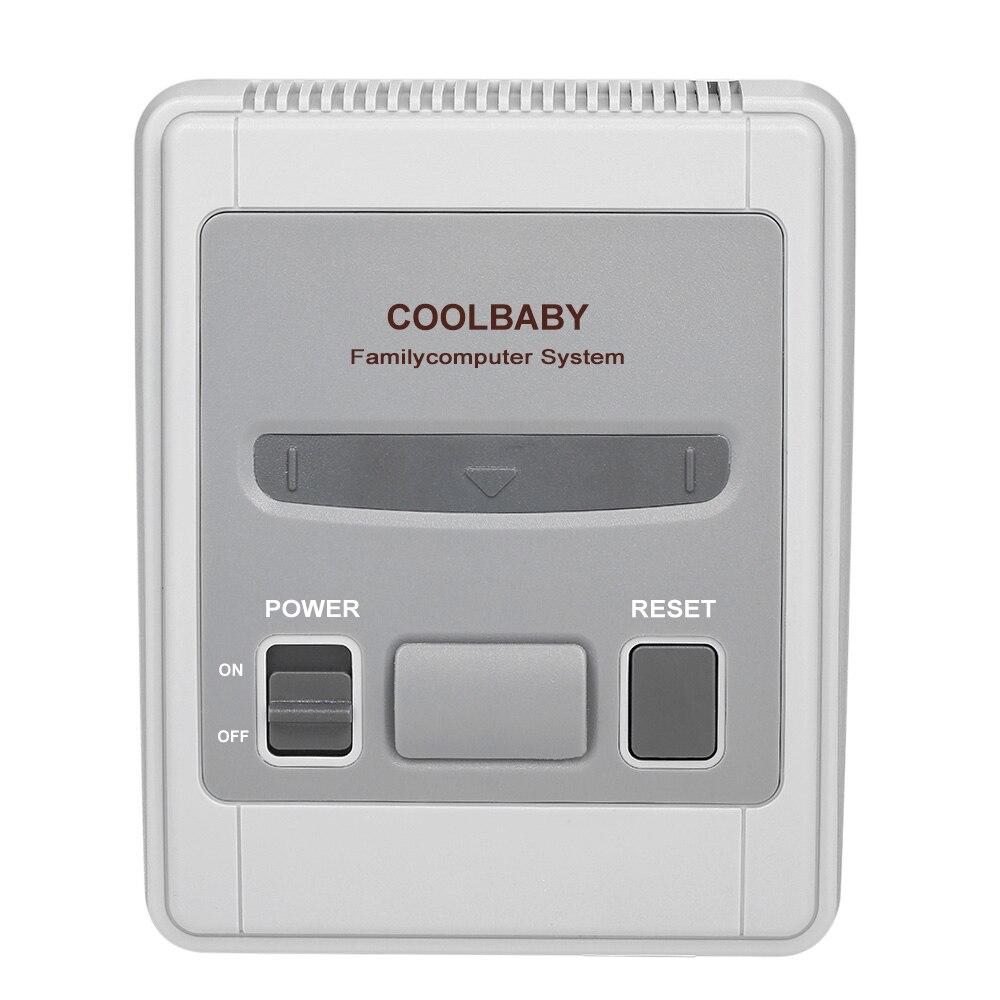 [해외]8 Bit Mini Classic Handheld Game Player Family TV Video Game Console Childhood Built-in 620 Classic Games Player AV Out Support/8 Bit Mini Classic