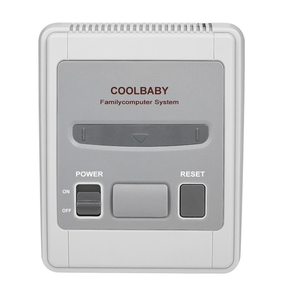[해외]8 Bit Mini Classic Handheld Game Player Family TV Video Game Console Childhood Gaming Built-in 620 Classic Games AV Out Support/8 Bit Mini Classic