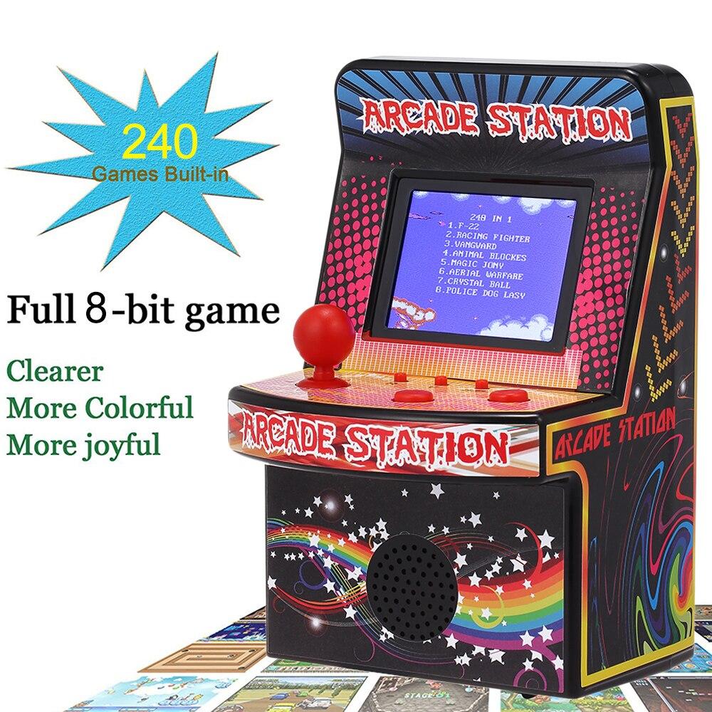 [해외]BL-883 Portable Retro Handheld Game Console 8-Bit Game Machine Mini Arcade Games Built-in 240 Classic Games for Kids/BL-883 Portable Retro Handhel