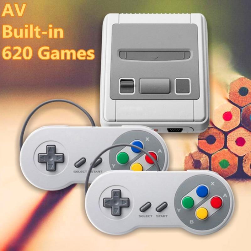 [해외]HDMI / AV Mini Retro TV Game Console 8Bit Classic Built-in 621 Games Controller HD two-player mini-game Consoles/HDMI / AV Mini Retro TV Game Cons
