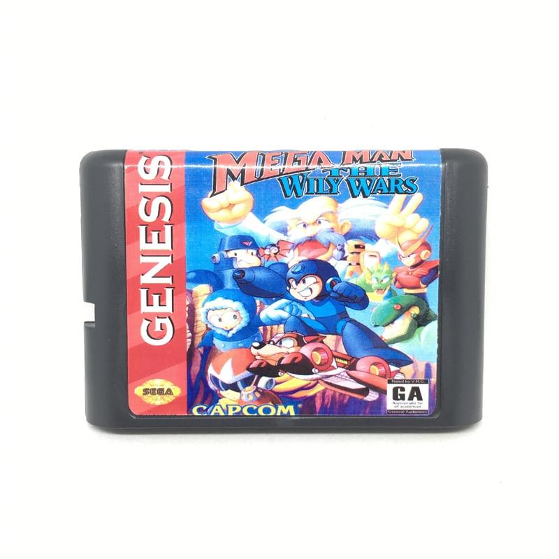 [해외]메가 맨 와이즈 워즈 16 비트 게임 카드 게임 카트리지 sega mega drive/genesis system eur/usa shell/메가 맨 와이즈 워즈 16 비트 게임 카드 게임 카트리지 sega mega drive/genesis sys