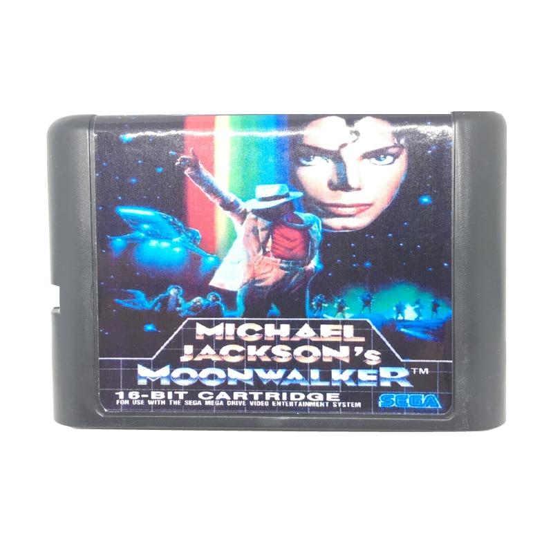 [해외]마이클 잭슨의 moonwalker 16 비트 게임 카드 게임 카트리지 sega 메가 드라이브/창세기 시스템 eur/usa 쉘/마이클 잭슨의 moonwalker 16 비트 게임 카드 게임 카트리지 sega 메가 드라이브/창세기 시스템 eur/us
