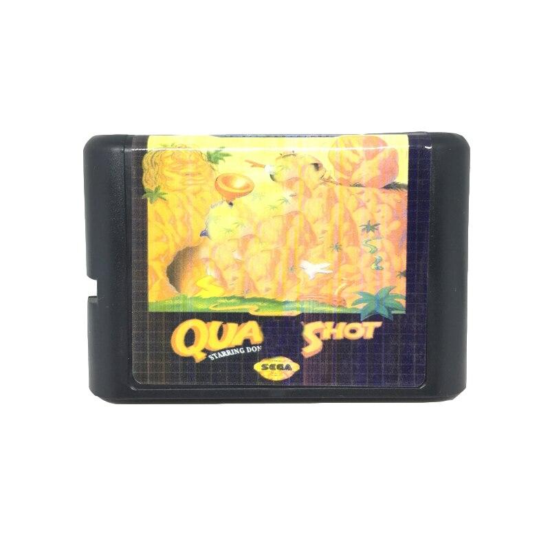 [해외]Sega mega drive 용 16 비트 게임 카드 게임 카트리지 용 quack shot/Sega mega drive 용 16 비트 게임 카드 게임 카트리지 용 quack shot
