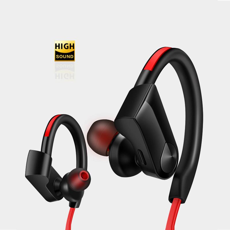 [해외]Earphones EarHook Sport Bluetooth Earphone Headset Light Weight Bass Running Headphone Forsmart Phone Earbuds For iphone 안드로이드/Earphones EarHook S