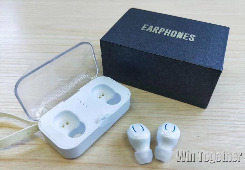 [해외]20PCS T18S Invisible Bluetooth Head phone 5.0 TWS Mini Wireless Earbuds Stereo Deep Bass Headset i9s i10 tws i12 Earphone Free/20PCS T18S Invisibl