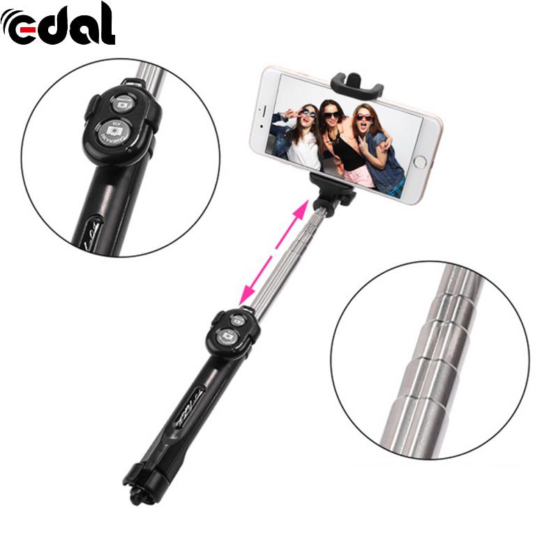 [해외]스마트 폰을위한 블루투스 셔터 원격 제어와 개폐식 자화상 유물 selfie 스틱/스마트 폰을위한 블루투스 셔터 원격 제어와 개폐식 자화상 유물 selfie 스틱
