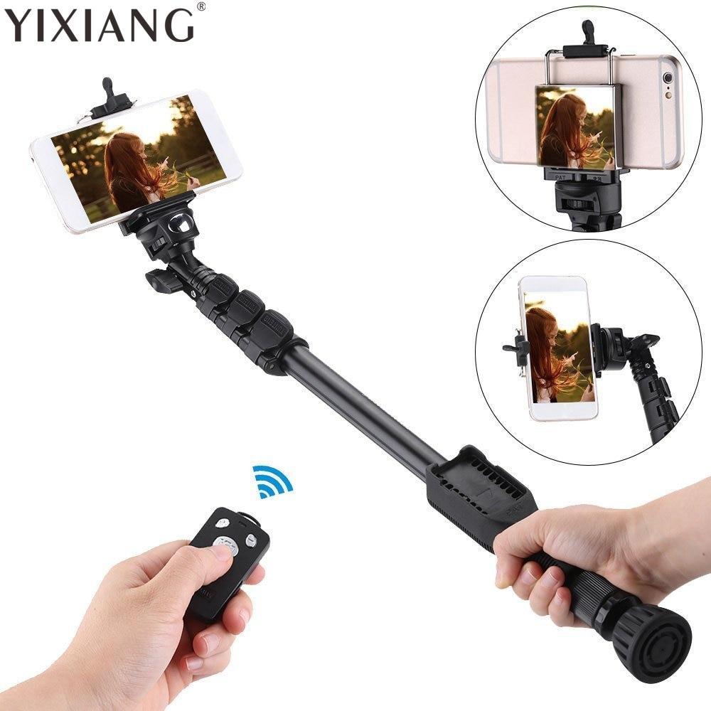 [해외]Yixiang 삼각대 자화상 monopod 전화 YT-388 selfie 스틱 w 블루투스 원격 셔터 아이폰 sumsang gopro에 대한/Yixiang 삼각대 자화상 monopod 전화 YT-388 selfie 스틱 w 블루투스 원격 셔터