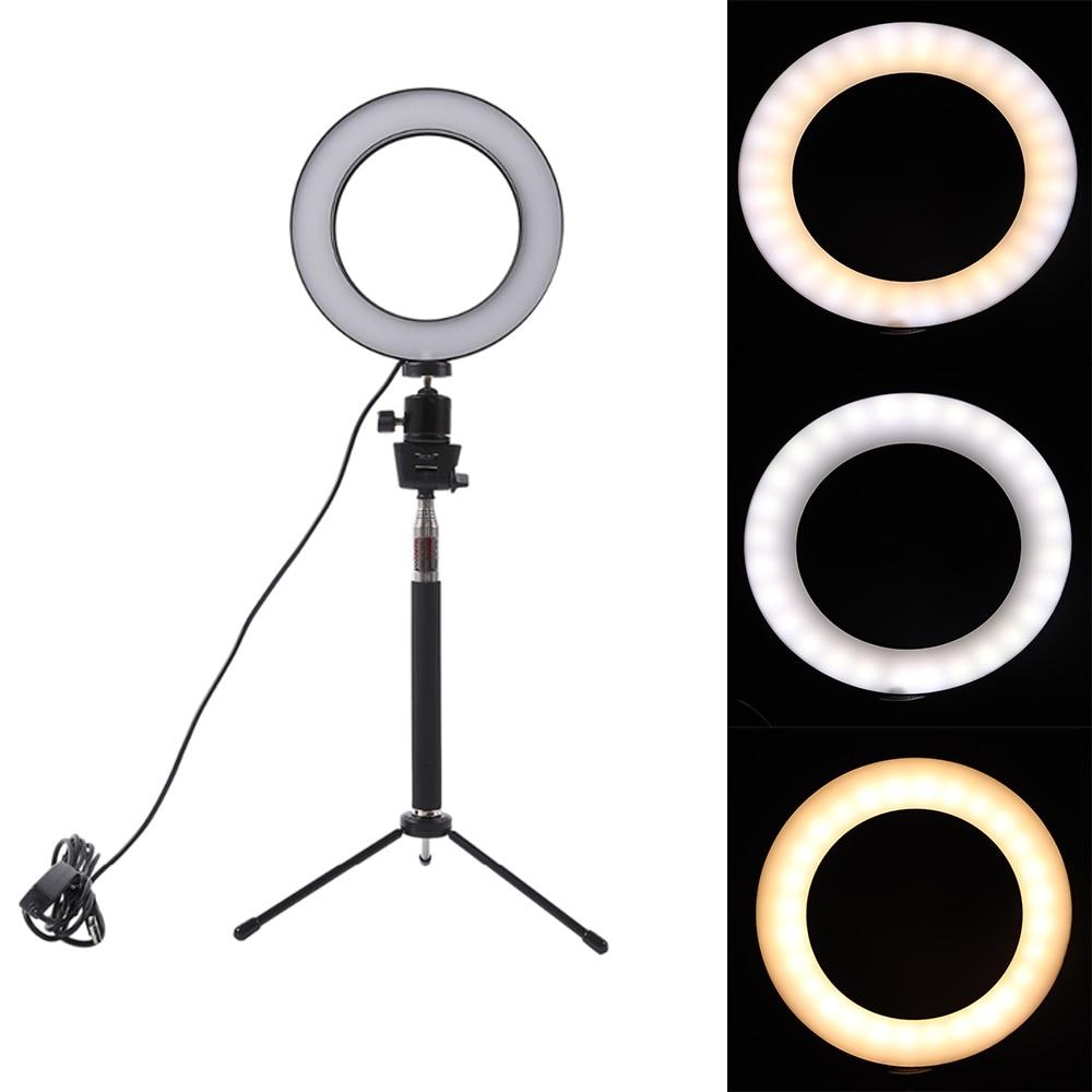 [해외]디 밍이 가능한 led 스튜디오 카메라 링 라이트 사진 전화 비디오 라이트 램프와 삼각대 selfie 스틱 링 테이블 채우기 라이트 캐논/디 밍이 가능한 led 스튜디오 카메라 링 라이트 사진 전화 비디오 라이트 램프와 삼각대 selfie 스틱