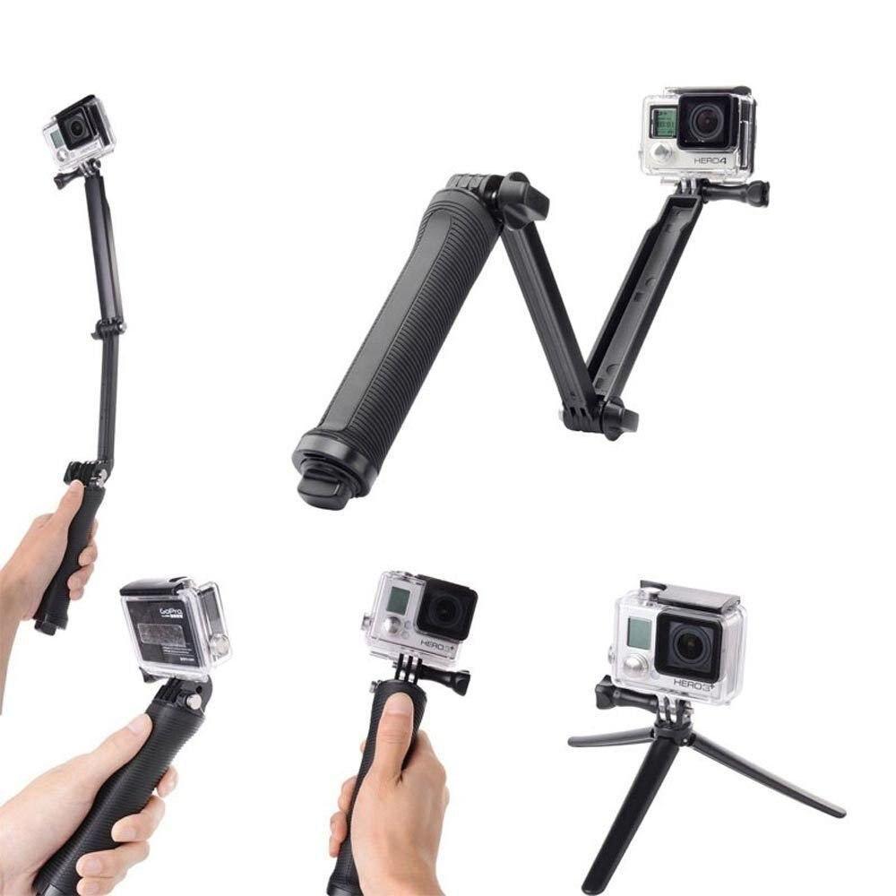 [해외]3 웨이 selfie 스틱 그립 방수 액션 카메라 pov monopod 서핑 다이빙 gopro hero 5 6 4 카메라 삼각대 스탠드/3 웨이 selfie 스틱 그립 방수 액션 카메라 pov monopod 서핑 다이빙 gopro hero 5