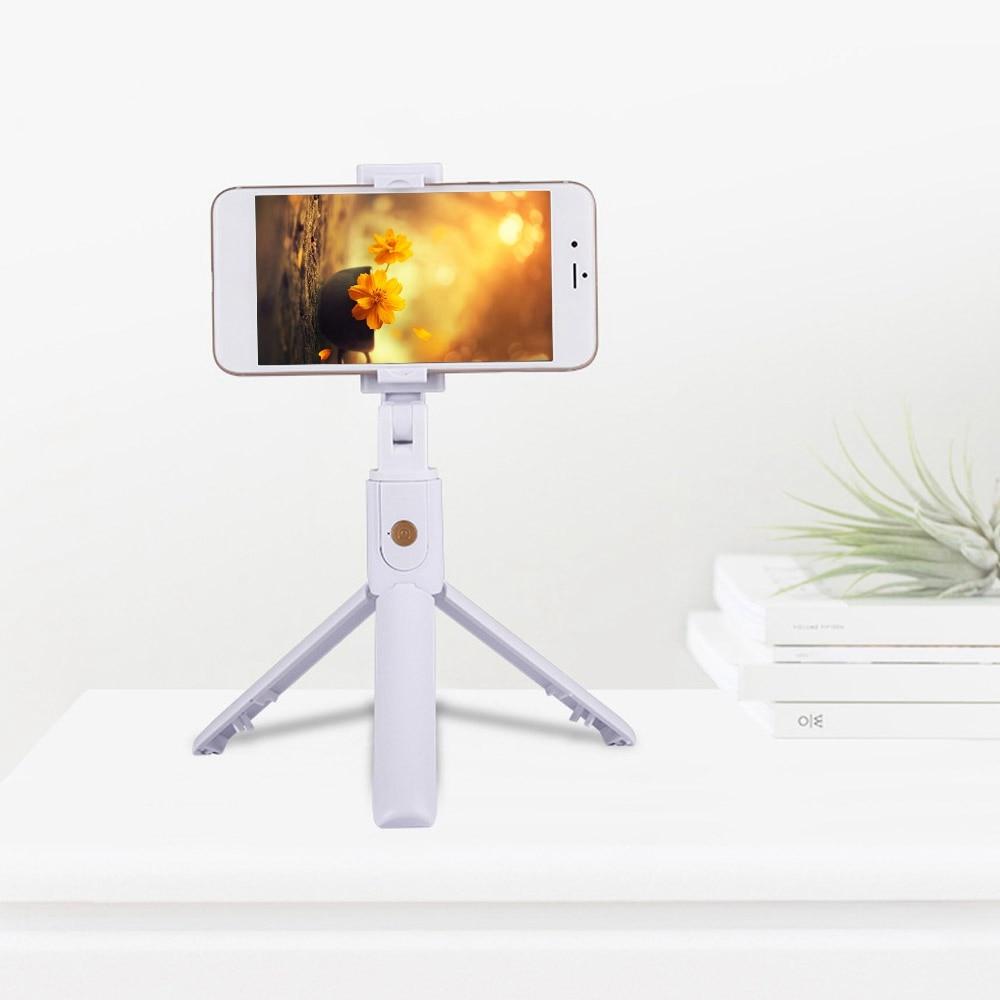 [해외]KISSCASE 패션 Foldable 삼각대 Monopod For iphone 블루투스 무선 Selfie 스틱 버튼 셔터 720 학위 전화/KISSCASE 패션 Foldable 삼각대 Monopod For iphone 블루투스 무선 Selfie