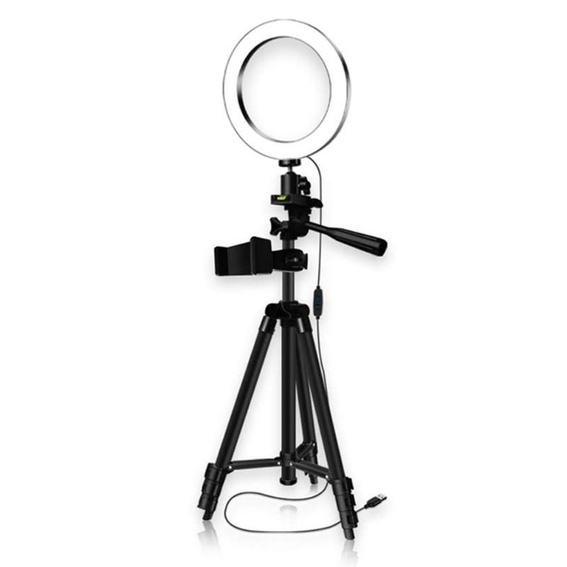 [해외]26 cm 디 밍이 가능한 led 스튜디오 카메라 링 라이트 비디오 라이트 스마트 폰 아이폰 selfie 라이브 쇼에 대 한 삼각대와 고리 형 램프/26 cm 디 밍이 가능한 led 스튜디오 카메라 링 라이트 비디오 라이트 스마트 폰 아이폰 s