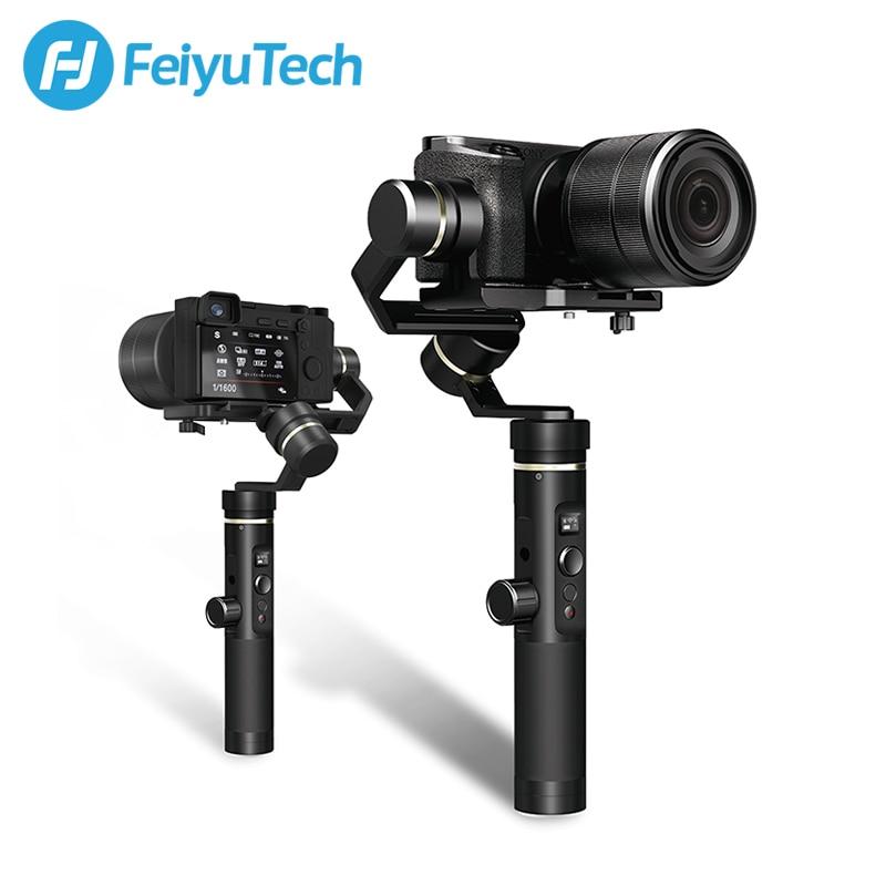 [해외]Feiyutech feiyu g6 plus 미러리스 카메라 포켓 카메라 용 3 축 핸드 헬드 짐벌 안정기 g6plus gopro smartphone iphone/Feiyutech feiyu g6 plus 미러리스 카메라 포켓 카메라 용 3 축