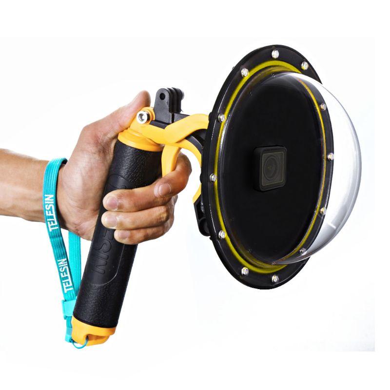 [해외]1 세트 수중 다이빙 돔 포트 렌즈 방수 케이스 보호 커버 gopro hero 7/6/5/4/3 + gopro hero 액션 카메라 ac/1 세트 수중 다이빙 돔 포트 렌즈 방수 케이스 보호 커버 gopro hero 7/6/5/4/3 + gop
