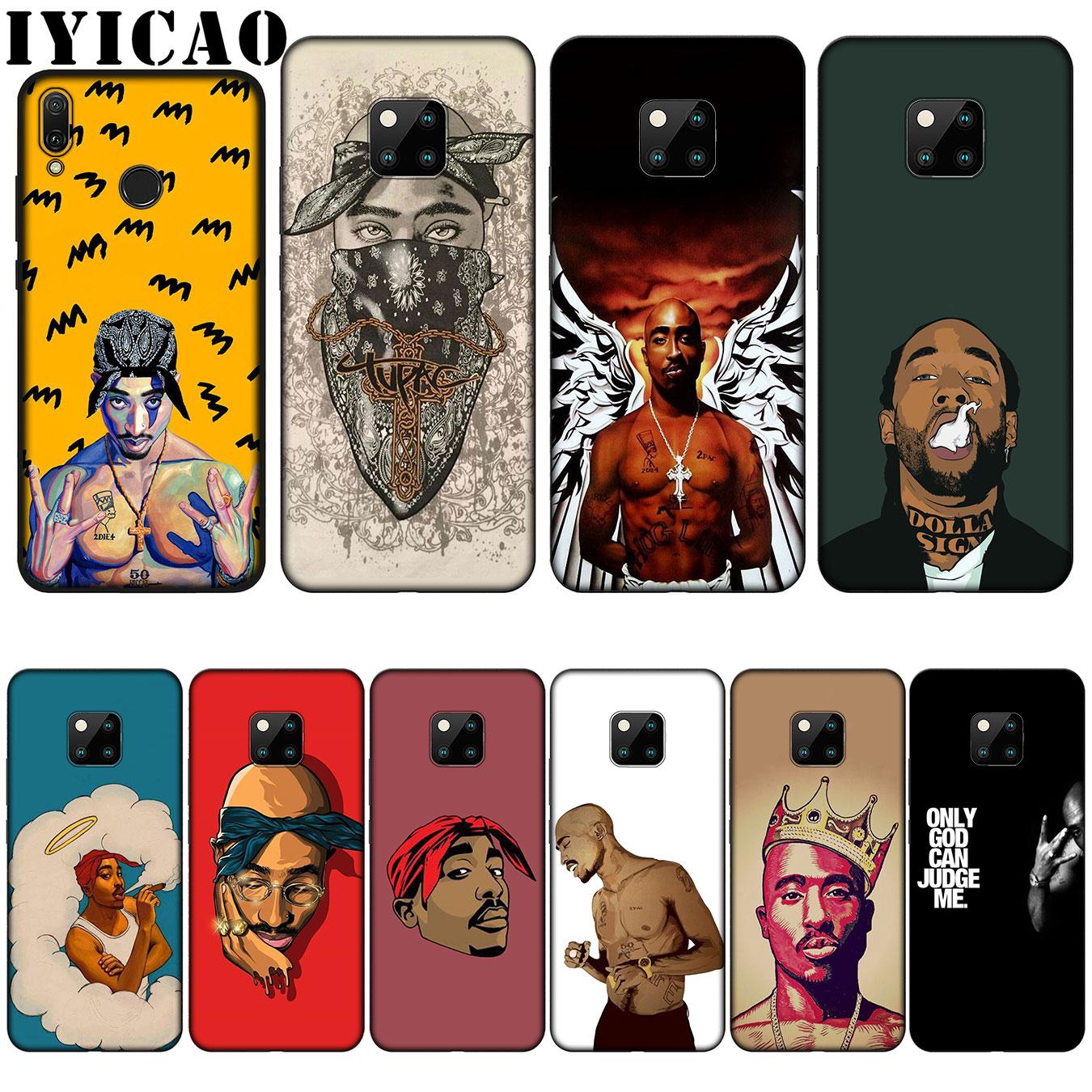 [해외]IYICAO 2Pac Tupac Shakur Super Deal Mobile Silicone Soft Case for Huawei Nova 3 3i 2i for Huawei Mate 20 10 Pro Lite/IYICAO 2Pac Tupac Shakur Supe