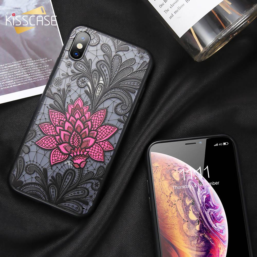 [해외]KISSCASE Case For P Smart 2019 Luxury Vintage Lace Flower Case For Huawei P Smart P30 Lite P30 Pro P30 Mate 20 Capinhas Coque   /KISSCASE Case For