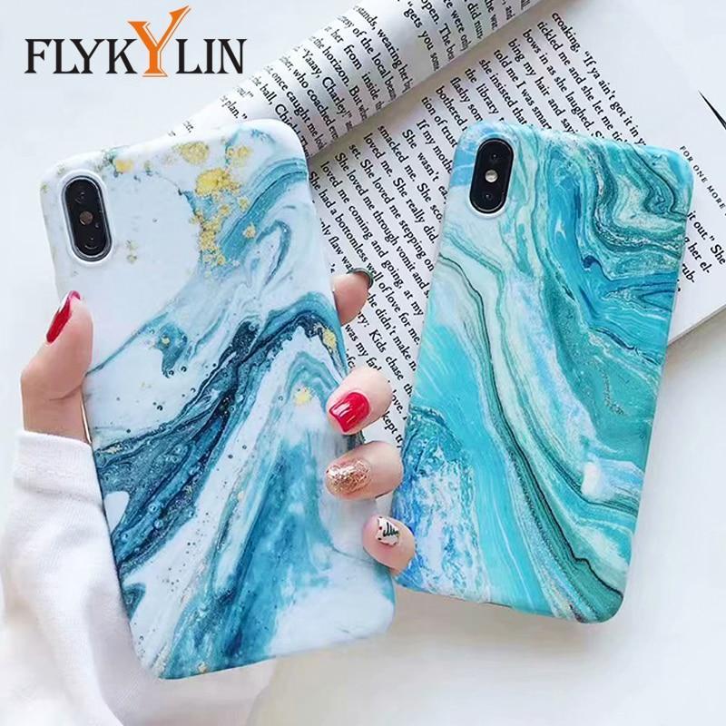 [해외]FLYKYLIN Marble Case For Huawei Mate 20 Pro Cases For Huawei P30 Lite P20 Pro Cover on P30 Pro Capa Fashion IMD Silicone Coque/FLYKYLIN Marble Cas