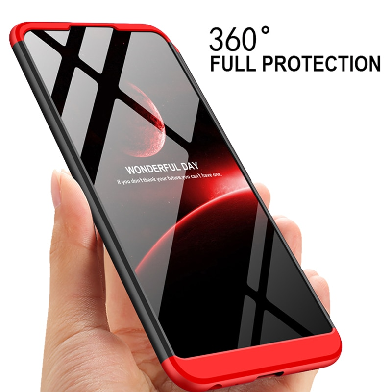 [해외]3-in-1 360 Full Protection Case Asus Zenfone Max Pro M2 ZB631KL Pro M1 ZB602KL Back Cover Matte Case Asus ZB631KL 631KL ZB 631KL/3-in-1 360 Full P