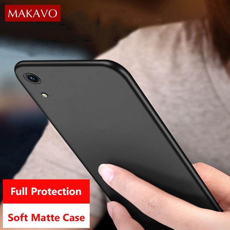 [해외]MAKAVO For Huawei Y6 2019 Case Slim Matte Soft Cover Cases For Huawei Y6 Pro Prime 2019 Phone Cases/MAKAVO For Huawei Y6 2019 Case Slim Matte Soft