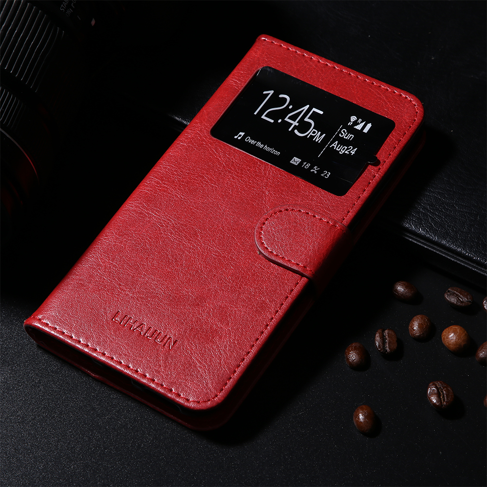 [해외]For Ulefone S10 Pro Case Cover Flip Leather Solid color Case Cover For Ulefone S10 Pro 5.7 inch Caseswindow/For Ulefone S10 Pro Case Cover Flip Le