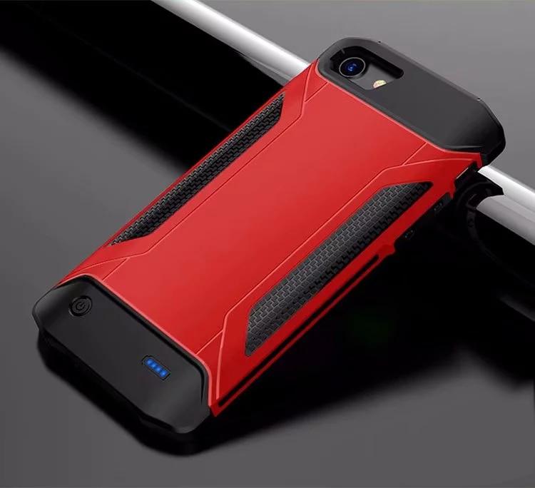 [해외]아이폰 6 6s에 대 한 배터리 충전기 아이폰 7 8 백업 야외 스포츠 충전기 커버에 대 한 울트라 슬림 shockproof 전원 은행 케이스/아이폰 6 6s에 대 한 배터리 충전기 아이폰 7 8 백업 야외 스포츠 충전기 커버에 대 한 울트라