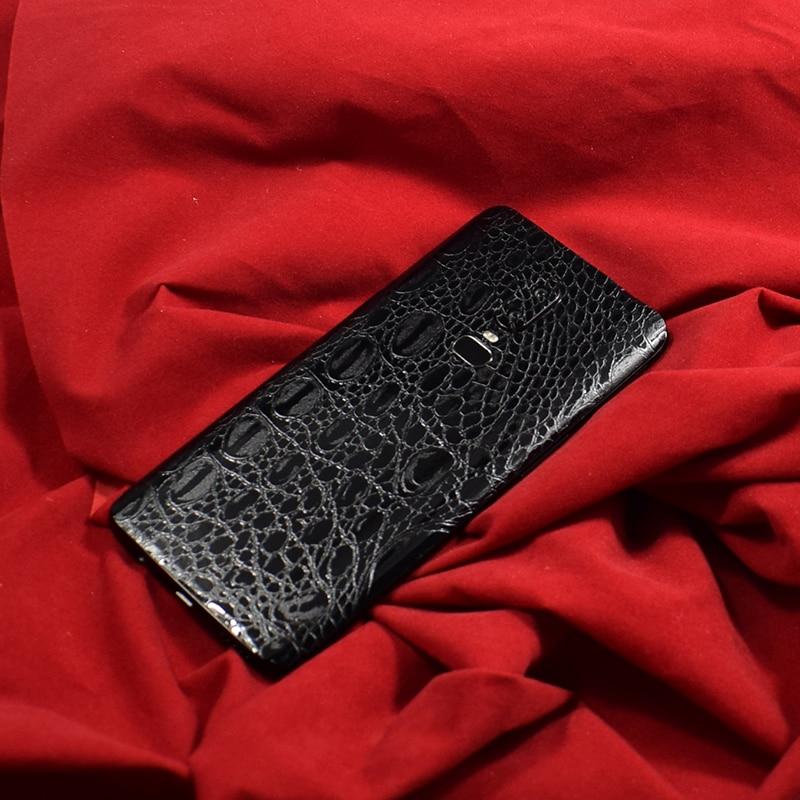 [해외]For Oneplus 6 6T 1+6 T Leather Skins Protective Film Wrap Skin Cellphone Back Paste Protective Film Sticker For One plus 6 6T/For Oneplus 6 6T 1+6