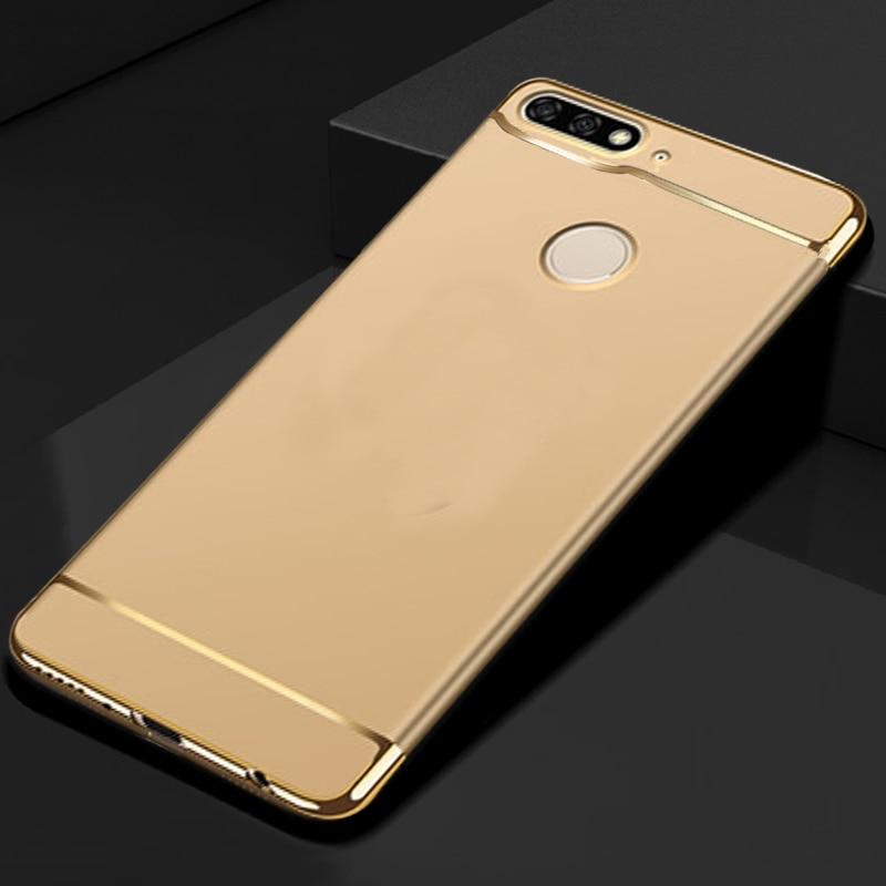 [해외]YUETUO hard phone back etui,coque,cover,case for huawei honor 7c pro nova 2 lite y7 prime 2018 y7 pro 2018 7 c accessories/YUETUO hard phone back