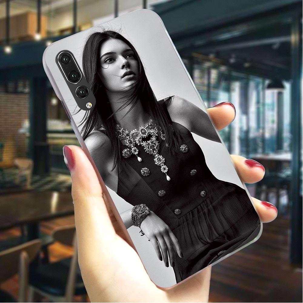 [해외]Hard Case for Huawei Honor 7C Kendall Jenner Cover for Honor 8 Covers 10 9 Lite 7A Pro 6A 7X Y6 Prime Nova 3i 3 Back Skin Print/Hard Case for Huaw