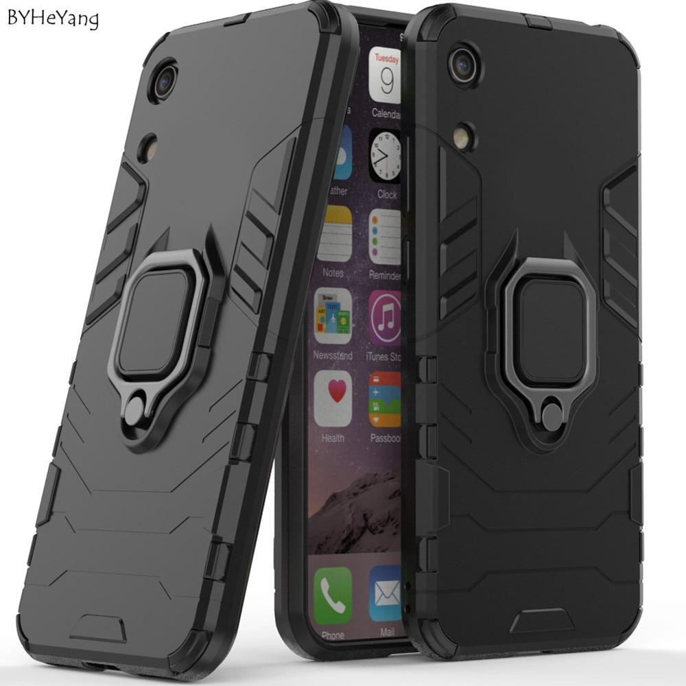 [해외]Holder case for Huawei Y6 Prime 2019 case Shockproof Back Soft TPU Hybrid Magnetic Armor Ring Cover for Huawei Y6 Pro/Y6 2019/8A/Holder case for H