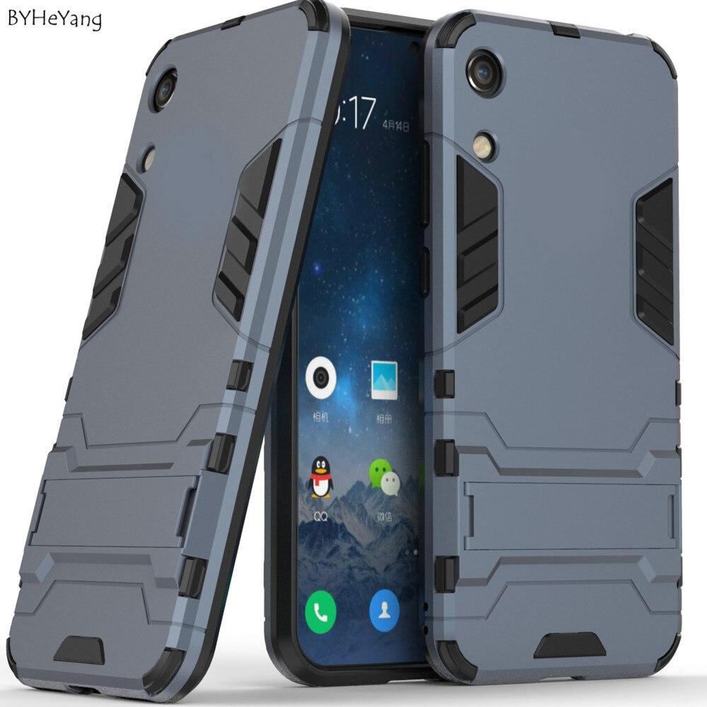 [해외]For Huawei Y6 2019 Case Cover 6.09inch Silicone Robot Armor Back Phone Case For Huawei Y6 2019 Y 6 Pro 2019 MRD-LX1 MRD-LX1F bag/For Huawei Y6 201