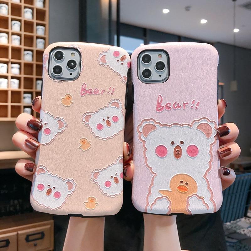 슈퍼 강한 구호 곰 아크 휴대 전화 쉘 애플 6 p 6sp 7 p 8 p xr 케이스, 아이폰 6 6 s 7 8 xs max 11pro max 케이스