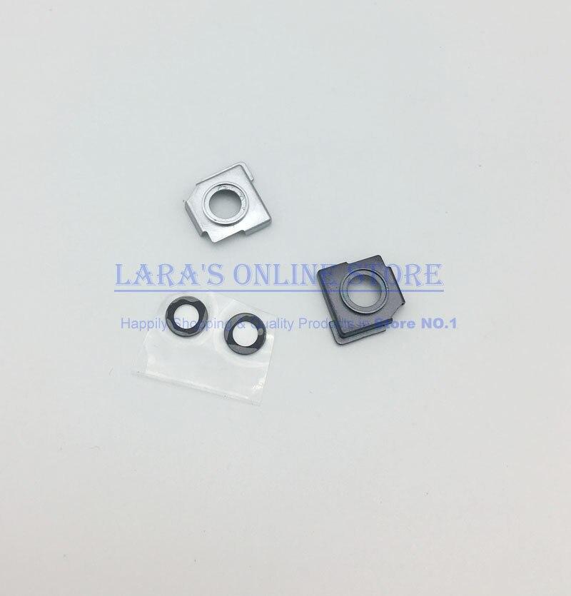 [해외]Jedx  Xioami 5 Mi5 Mi 5 용 후면 카메라 렌즈 유리 커버 프레임 홀더 교체 부품 실버 블랙/Jedx Genuine New For Xioami 5 Mi5 Mi 5 Back Rear Camera Lens Glass CoverFrame Holder