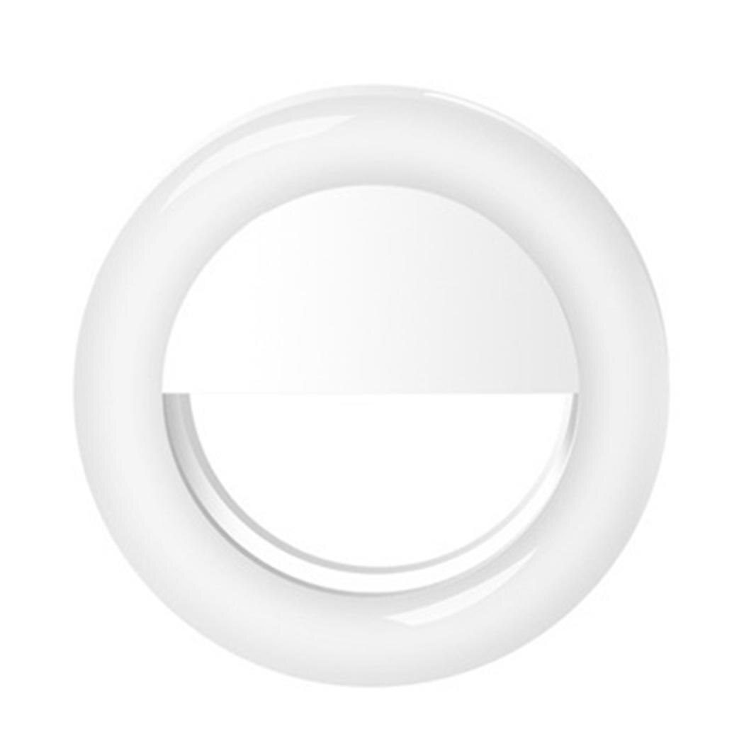 [해외]New Fashion Selfie Round Shape Light Rechargable 1000MA Selfie LED DC 1A/5V 3W Camera Light/New Fashion Selfie Round Shape Light Rechargable 1000M