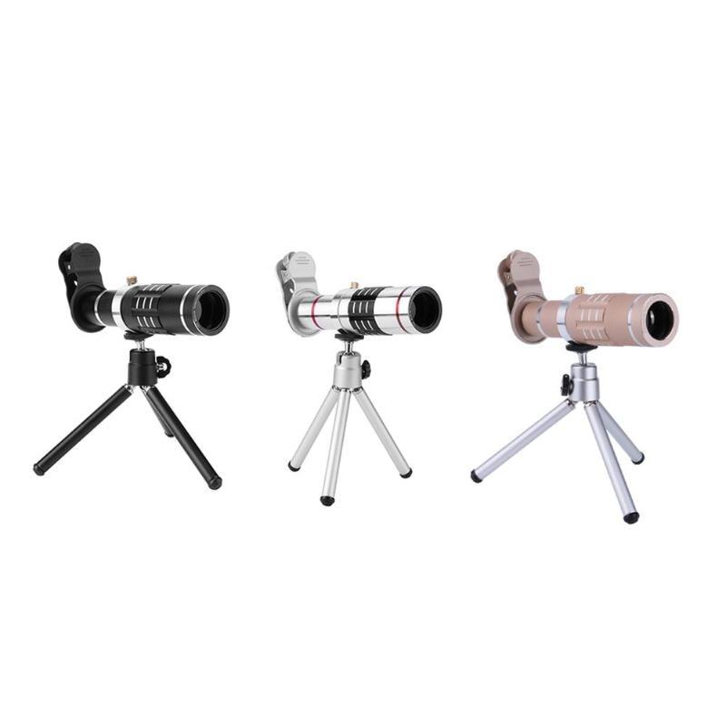 [해외]18x Zoom Optical Telescope Lens w/Tripod Clip Universal Phone Camera Lens/18x Zoom Optical Telescope Lens w/Tripod Clip Universal Phone Camera Len