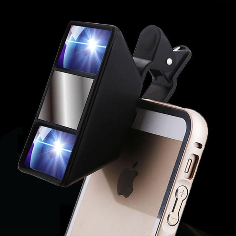 [해외]모바일 3d 전화 렌즈 입체 렌즈 고품질 스마트 폰 3d 카메라 스테레오 사진 클립이있는 어안 렌즈/모바일 3d 전화 렌즈 입체 렌즈 고품질 스마트 폰 3d 카메라 스테레오 사진 클립이있는 어안 렌즈