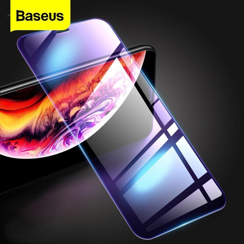 [해외]iPhone X Xs 용 Baseus 0.3mm 화면 보호기 Max XR 강화 유리 전면 커버 보호 iPhone 용 강화 유리 필름 Xsmax/Baseus 0.3mm Screen Protector For iPhone X Xs Max XR Tempered Glas