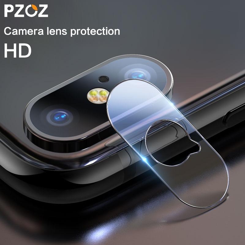 [해외]Pzoz for iphone 11 pro x xs 최대 0.15mm 카메라 렌즈 유리 뒷면 보호 렌즈 강화 유리 필름 커버 휴대 전화 액세서리