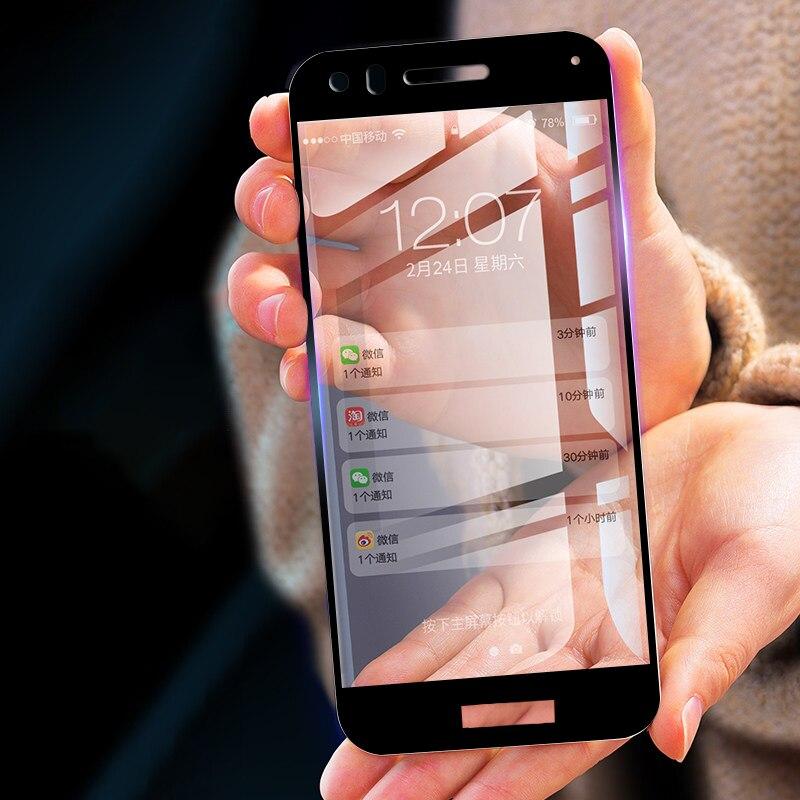 [해외]For Huawei P10 Lite Tempered Glass Full Cover Colorful Screen Protector Film Guard For Huawei P10 Lite 5.2 inch/For Huawei P10 Lite Tempered Glass