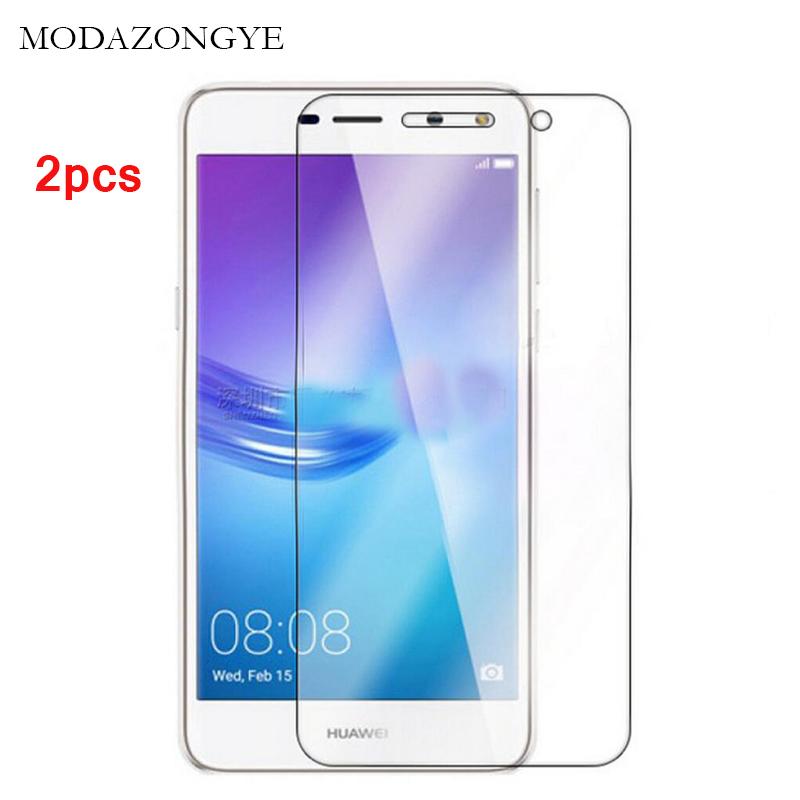 [해외]2pcs Tempered Glass Huawei Y5 2017 Screen Protector Huawei Y5 2017 MYA-L22 Screen Protector Glass pelicula de vidro/2pcs Tempered Glass Huawei Y5