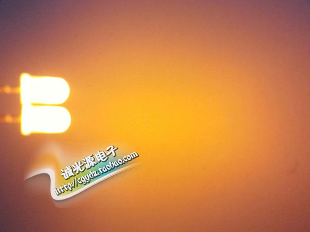 [해외]5MM F5 white yellow light LED lamp lightsuper bright light cube/5MM F5 white yellow light LED lamp lightsuper bright light cube