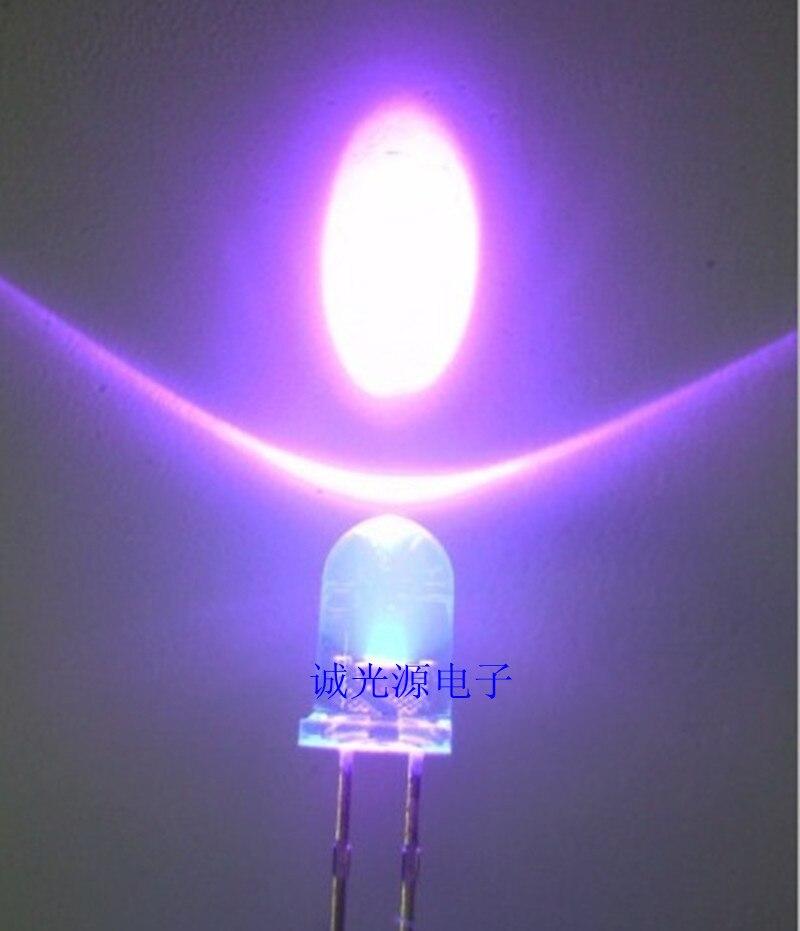 [해외]LED 5MM F5 UV beads purple violet curing fluorescent/LED 5MM F5 UV beads purple violet curing fluorescent