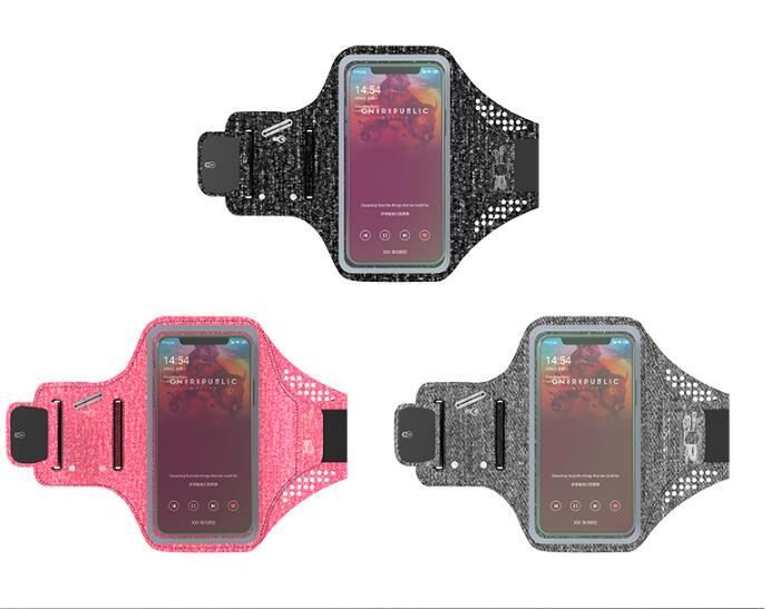 [해외]Sport Armband case mobile phone fashion holder on hand smartphone handbags Touch screen armbands wrist fitness strap equipment/Sport Armband case