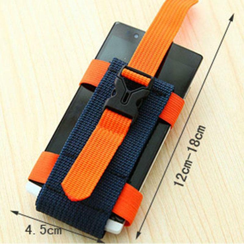 [해외]2.5-5.5 인치 전화 du55에 대 한 조정 가능한 팔 주머니 캠핑 하이킹 전화 홀더 가방을 실행/2.5-5.5 인치 전화 du55에 대 한 조정 가능한 팔 주머니 캠핑 하이킹 전화 홀더 가방을 실행