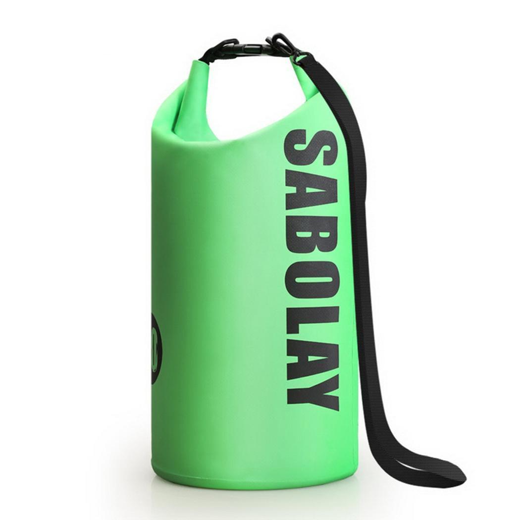 [해외]Outdoor Waterproof Beach Bag Snorkeling Swimming 0.35kg Drifting Yellow, Green, Blue, Black 10L Backpack/Outdoor Waterproof Beach Bag Snorkeling S