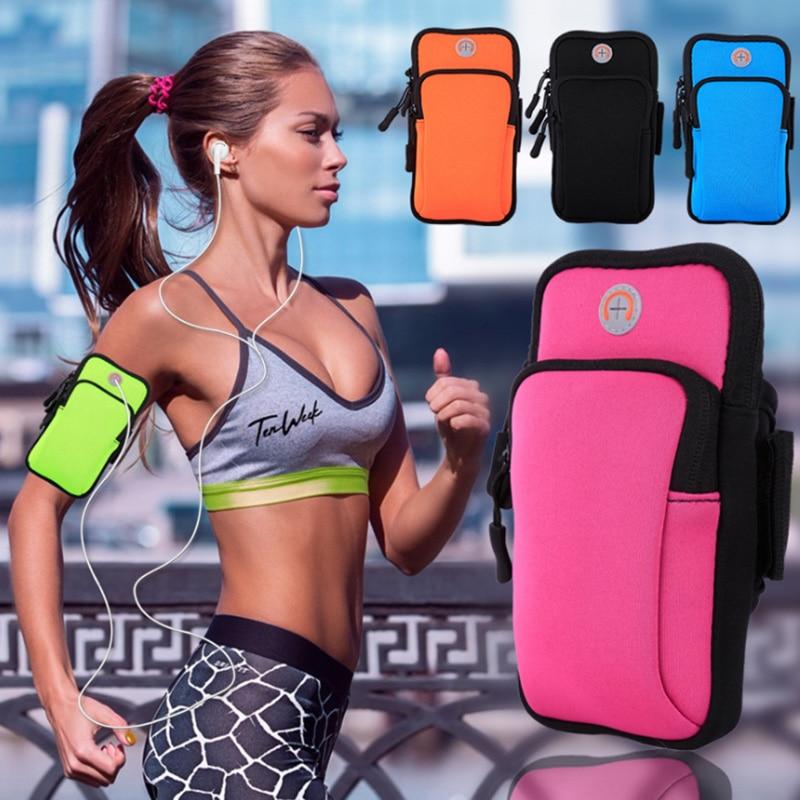 [해외]For Ulefone P6000 Plus Waterproof Sport GYM Running Waist Belt Pack Phone Holder Case For Ulefone Power 6 Armband On hand/For Ulefone P6